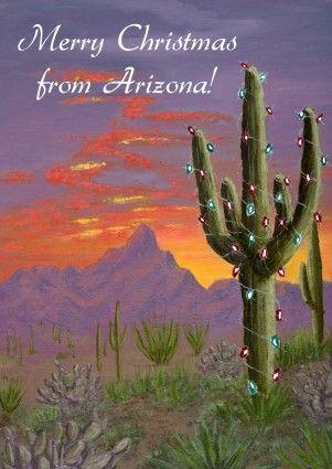 arizona christmas cards | Southwest Christmas / Holiday Cards ...