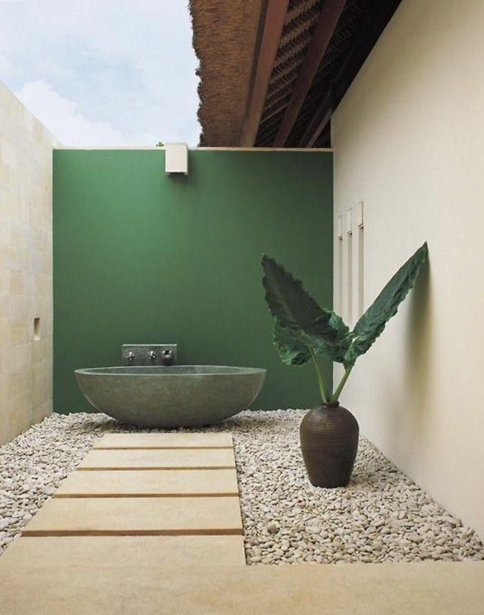 Comment aménager la salle de bain exotique - 40 idées Backyard