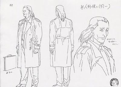 Living Lines Library Kokaku Kidotai Ghost In The Shell 1995 Ghost In The Shell Character Design Character Model Sheet