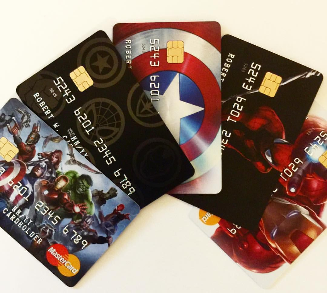 Have you seen the new Marvel MasterCard®? Which one would you choose? Apply today at Marvel.com/creditcard.