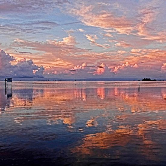 Clouds - Almost Heaven - by HHPhotographyFL  #cloudscape #waterscape #colorfulclouds #clouds via @hhphotography3