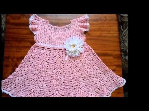 bf83d3bcb Vestido Crochet para Niña de 18 meses a 2 años - YouTube | crochet ...