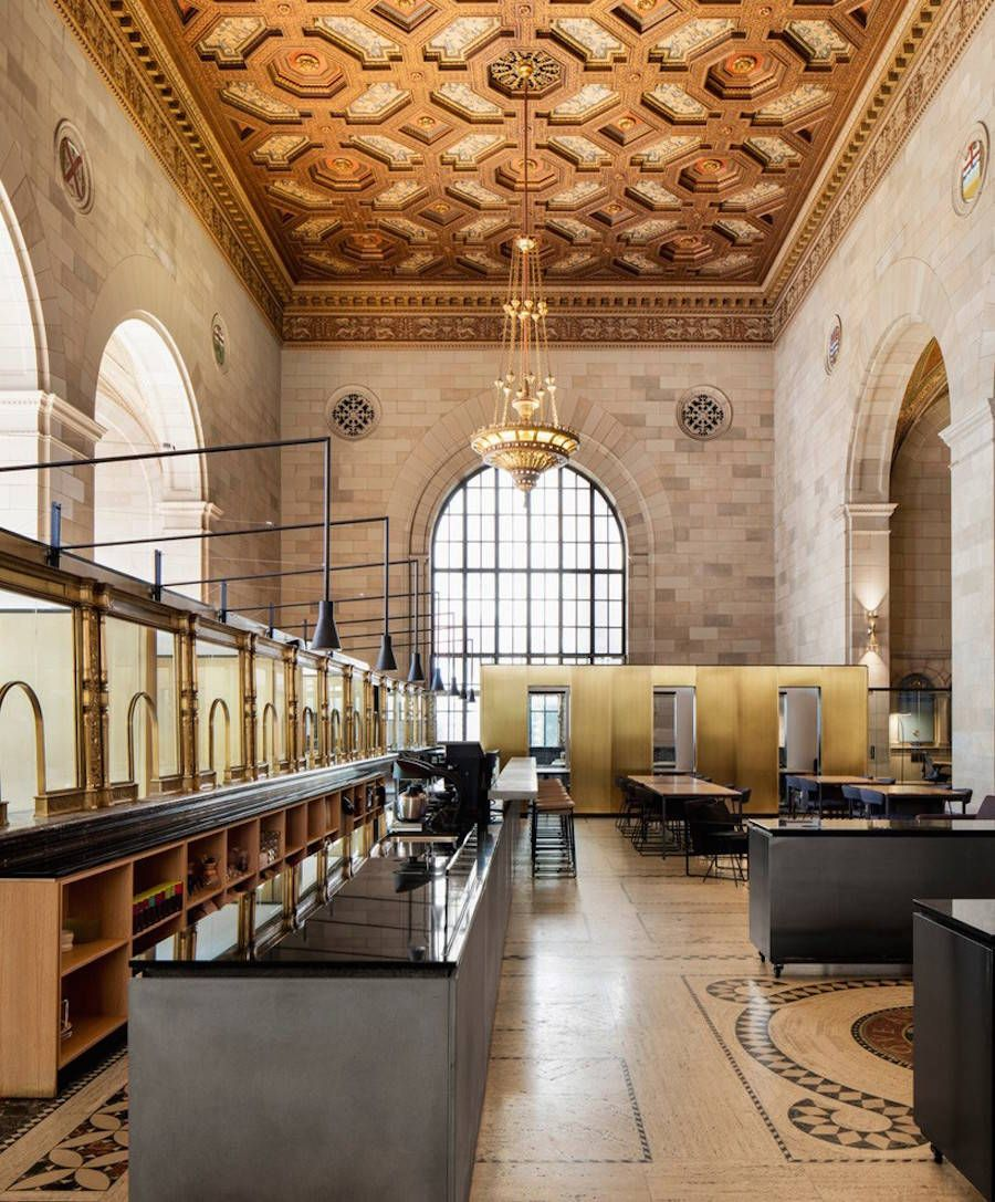 Interior Design Office Montreal: Old Bank Turned Into Startup Office In Montreal