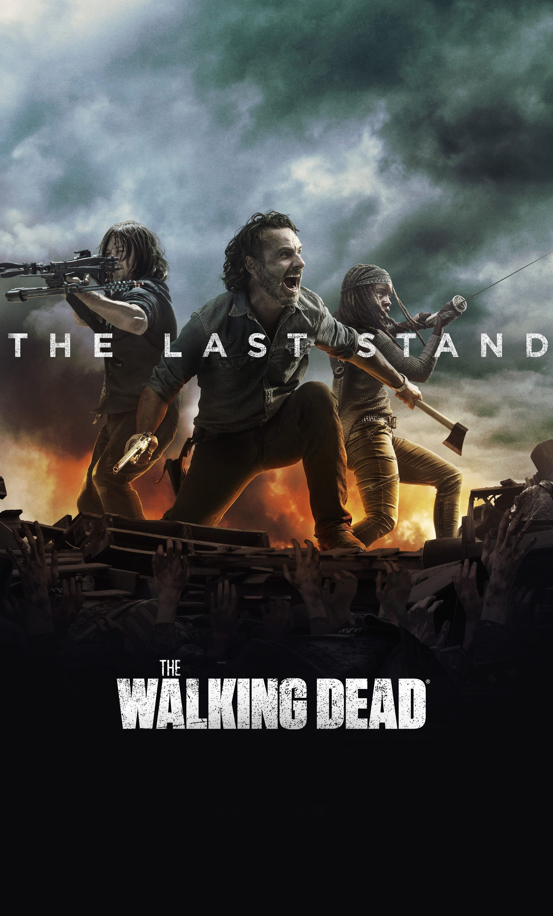 The Last Stand The walking dead poster