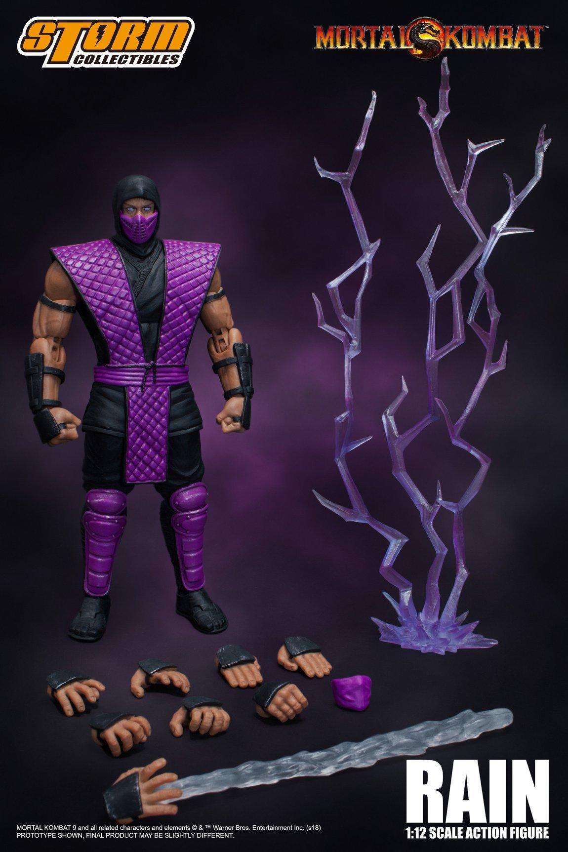 SMOKE 1:12 Figures IN STOCK NYCC 2018 Storm Collectibles Mortal Kombat RAIN
