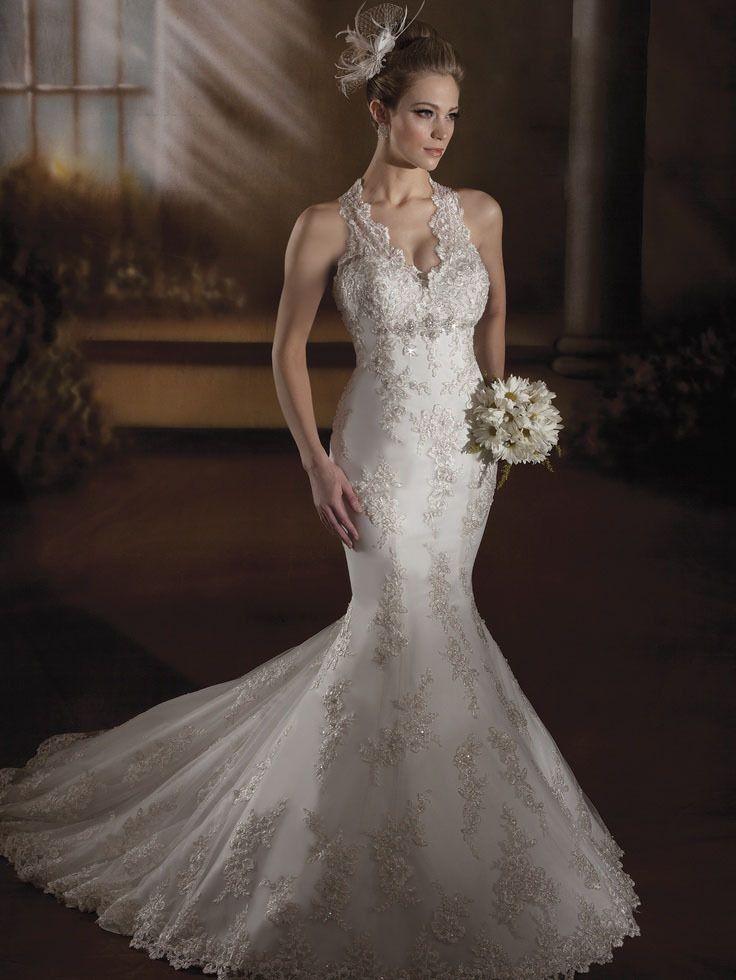 Image result for halter neck wedding dresses | Wedding dresses ...
