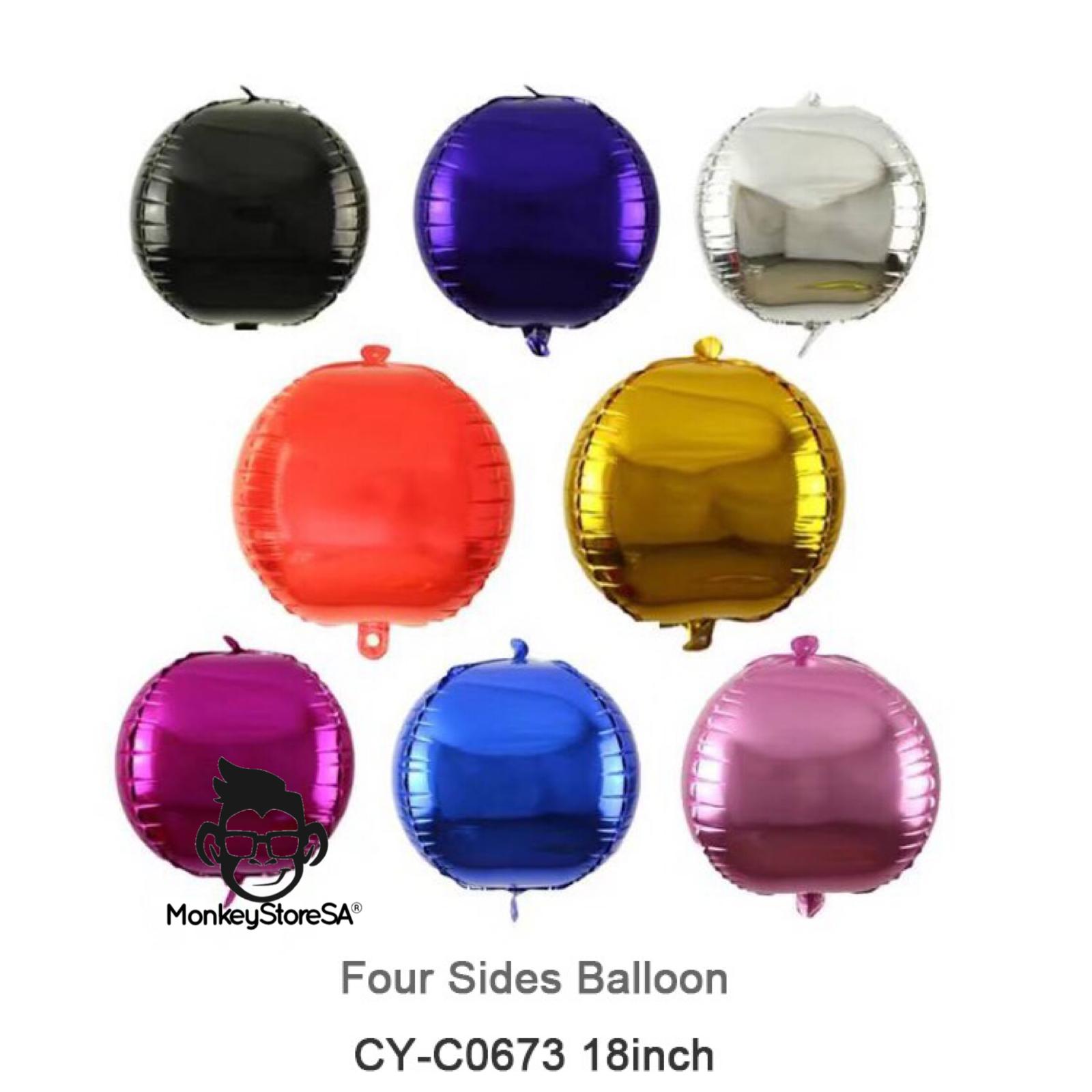 بالونه هيليوم سعر الحبه ٤٥ ريال شامل النفخ متوفره من الون الذهبي فضي اسود Balloons Helium Balloons Helium