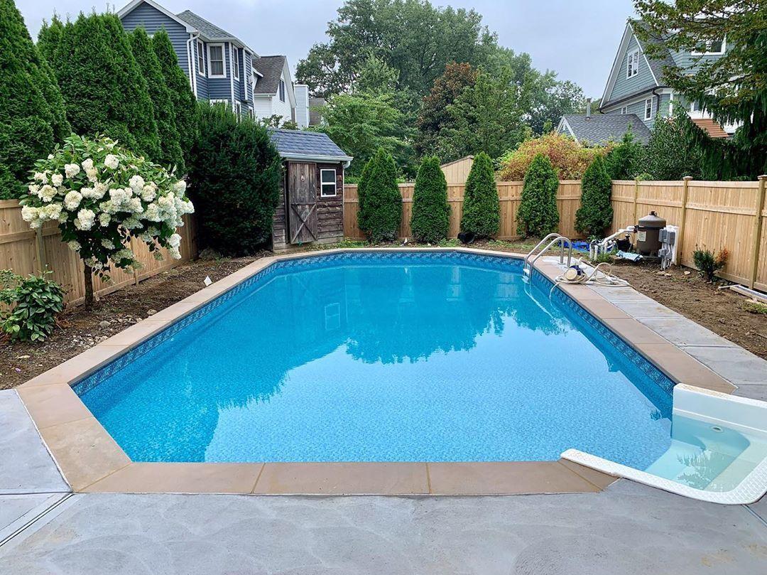 Luxe Gemstone Tile Pool Backyard Pool Spa Pool