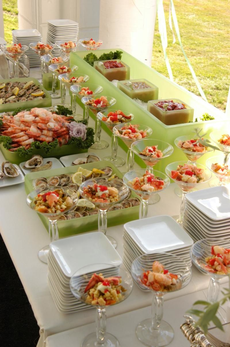 Seafood Dinner Party Ideas Part - 38: Appetizer Buffet