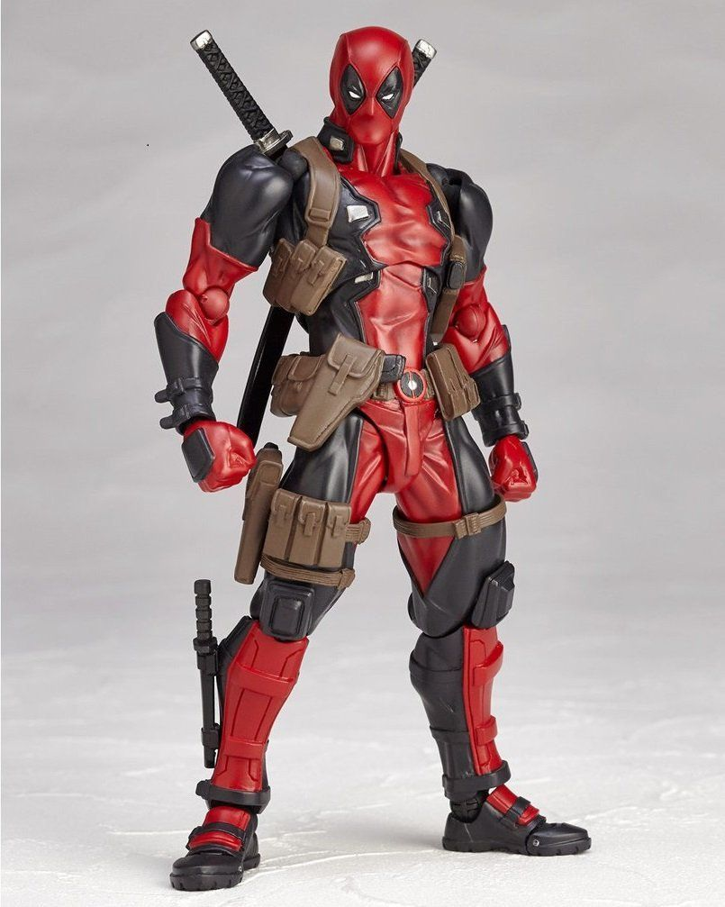Deadpool Marvel Legends X-Men No.001 Revoltech Kaiyodo Version Action Figure