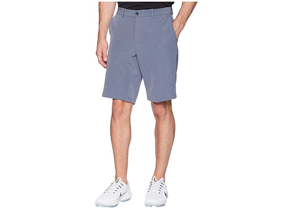 Nike Golf Hybrid Woven Shorts (Obsidian Obsidian) Men s Shorts. Walk the  fairway f2348783f