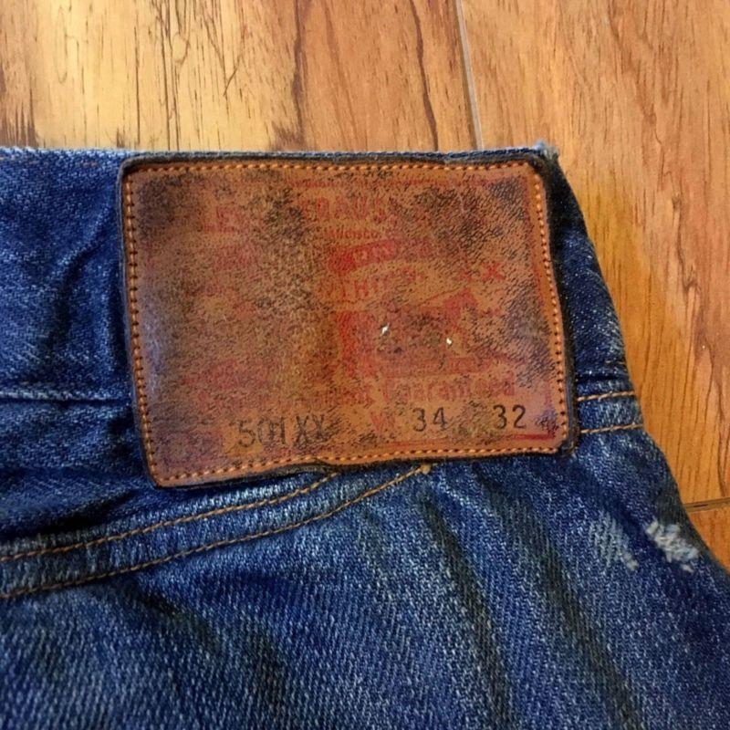 ea830a6c Levi's vintage clothing LVC 501 XX Limited edition 1890 size 34/32 ...