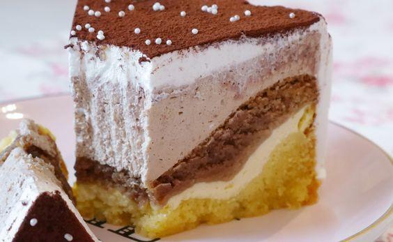 QuarkNougatWelle Kuchen und torten, Lecker backen
