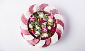 Image result for meringue dessert plating