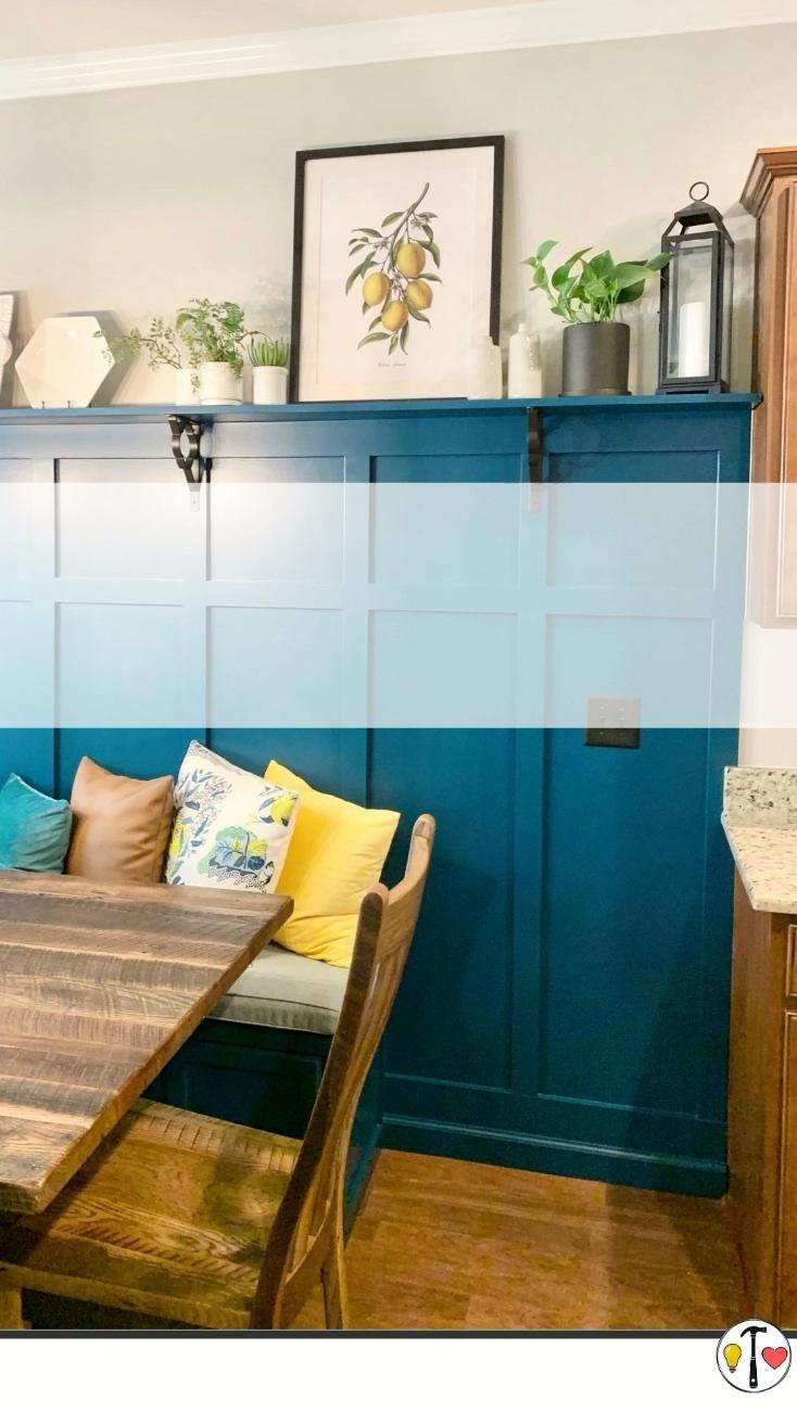 Dining Room Bench & DIY Board and Batten Tutorial
