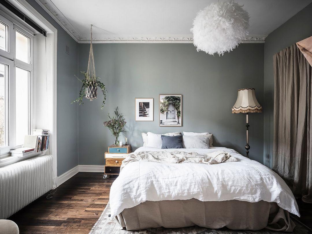 Chambre Couleur Gris Blanc jolie association de couleurs blanc, brun, beige et gris