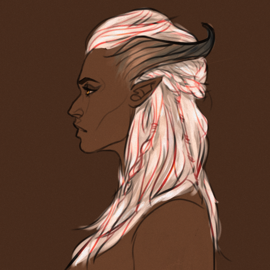qunari lady by Ajmone on DeviantArt