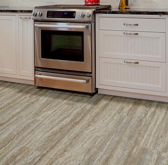 Ivc Beige Granite 12 X 24 Click Together Waterproof Luxury Vinyl Tile Flooring Luxury Vinyl Tile Luxury Vinyl Tile Flooring Vinyl Flooring Kitchen