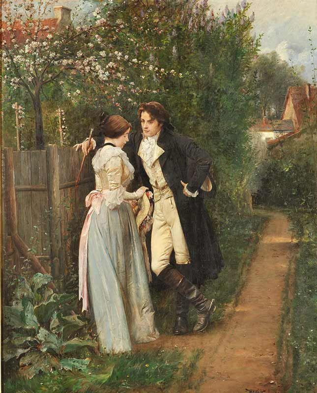 19th century romantic painting