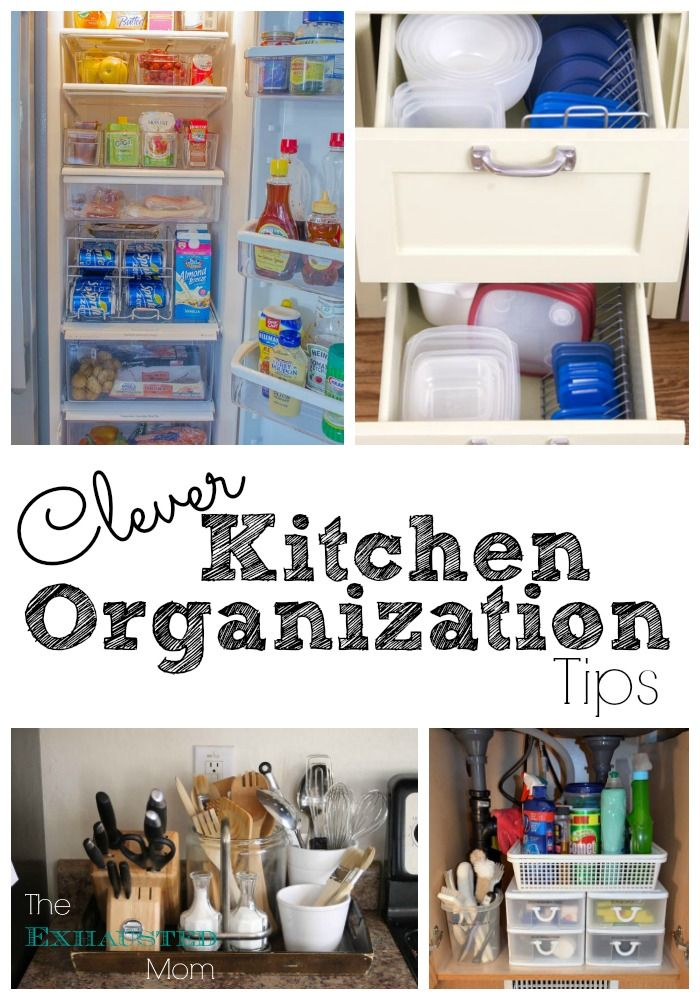 Clever kitchen organization tips do it yourself today pinterest clever kitchen organization tips solutioingenieria Gallery