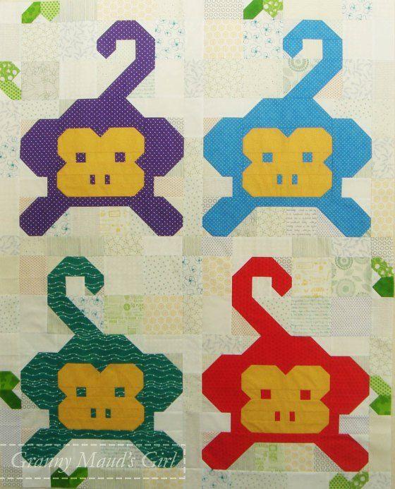 Monkey business | Fat quarters, Shops and Quilt : monkey business quilt pattern - Adamdwight.com