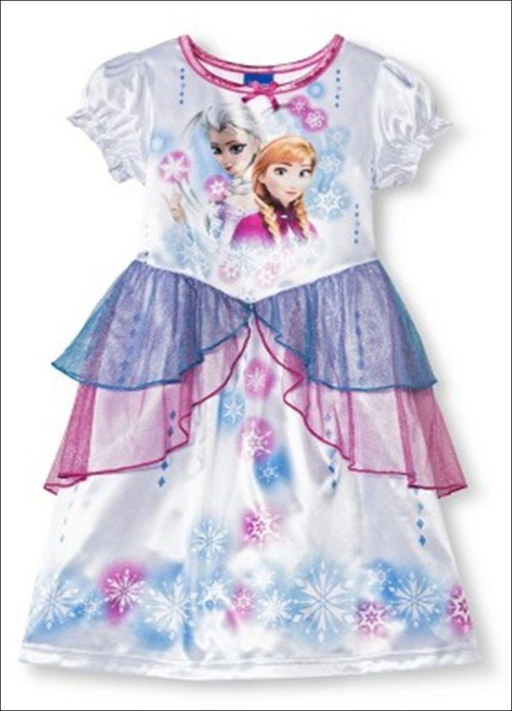 NWT Disney Store Frozen Pink Anna Sleep Set Pajamas Top Pants 5 7
