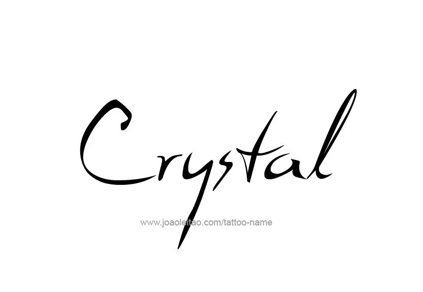 Crystal Name Tattoo Designs Name Tattoo Name Tattoos Name Tattoo Designs