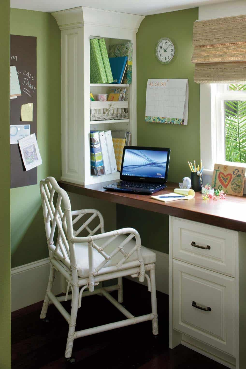 25 Small And Creative Home Office Design Ideas To Inspire ...
