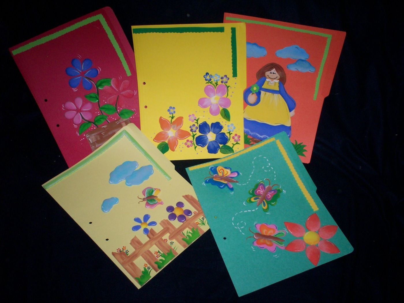 Como Decorar Una Carpeta Para Niños Como Decorar Carpetas Imagui Manuualidades Cards Y Playing