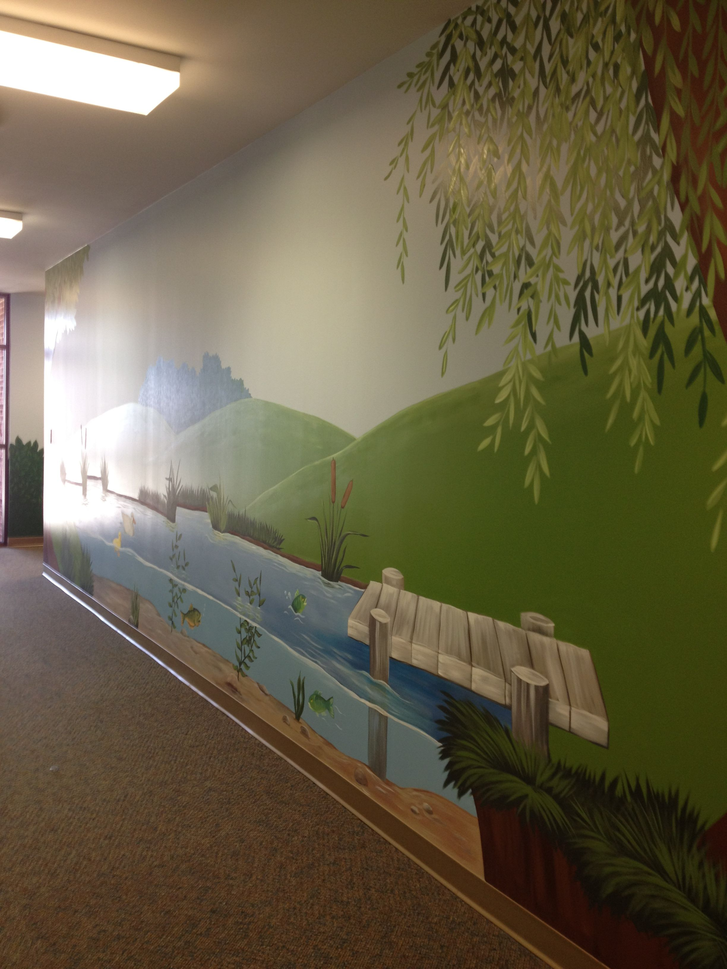 Junior hallway ideas  Preschool hallway side   Preschool hallway at EMBC  Pinterest