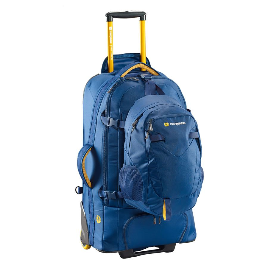 Caribee Stratosphere 75L   Wheeled Backpack for Travelling