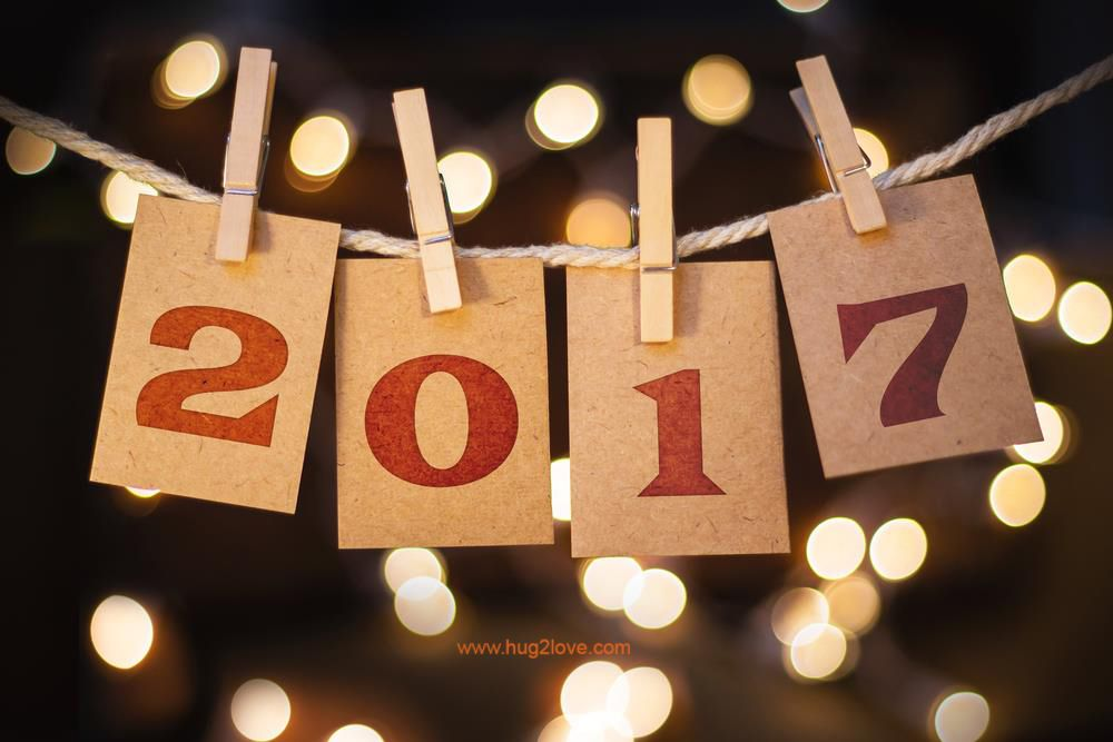 Happy New Year Backgrounds 2017