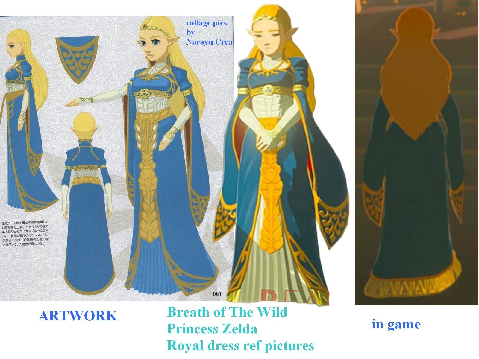 Reference Pictures For Costume Cosplay Breath Of The Wild