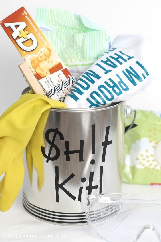 Funny Baby Shower Gift Daddy Doody Duty Kit Diapers Babies And Gift