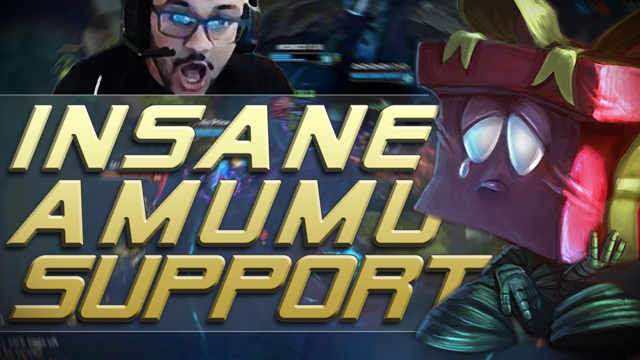 INSANE AMUMU SUPPORT - Aphromoo Ft. Huhi https://www.youtube.