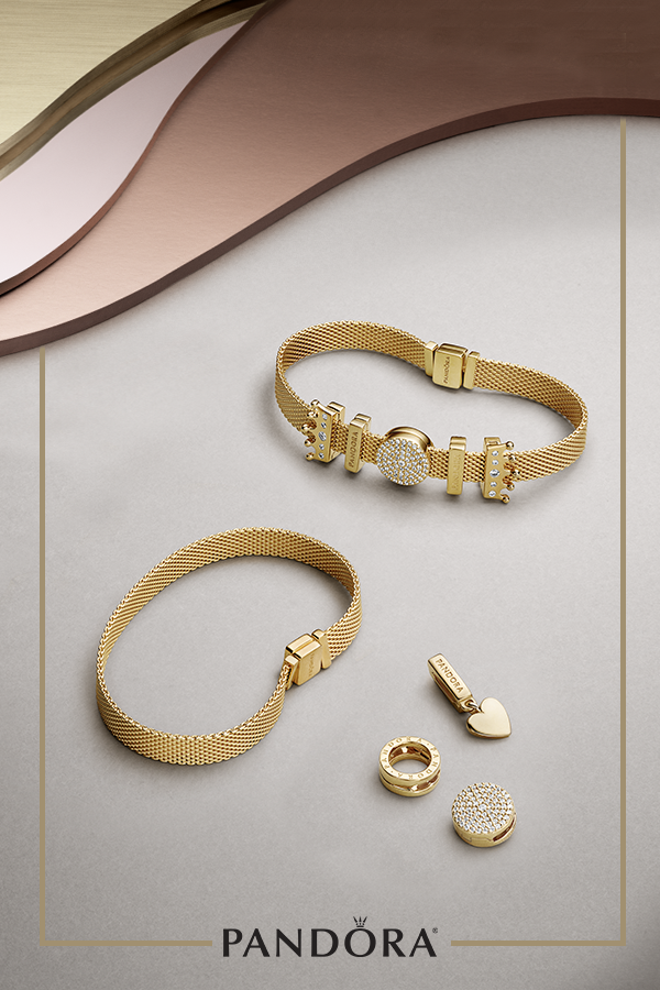 a55a7c3ca Express your unique style with new PANDORA Reflexions™, a contemporary  bracelet that is modern yet timeless. Start with a bracelet in PANDORA  Shine™ and add ...