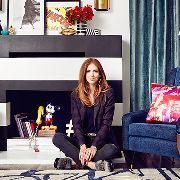Comedy writer and star of VH1's Barely Famous gets a hard-earned transformation for her new Beverly Hills home.