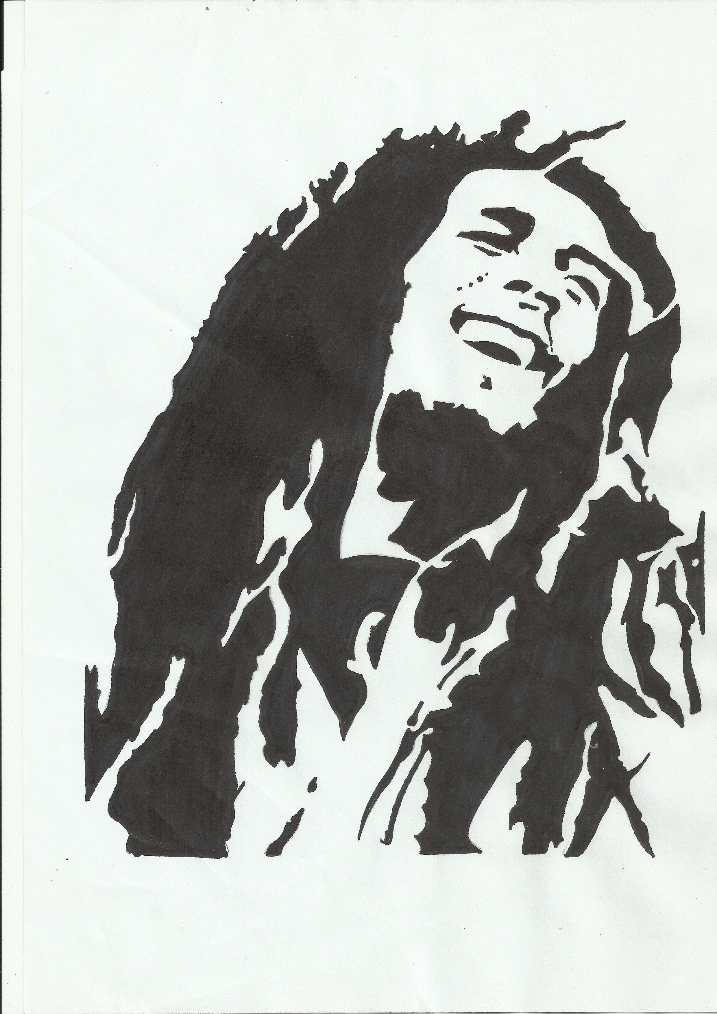 Bob Marley Bob marley art, Bob marley, Silhouette clip art