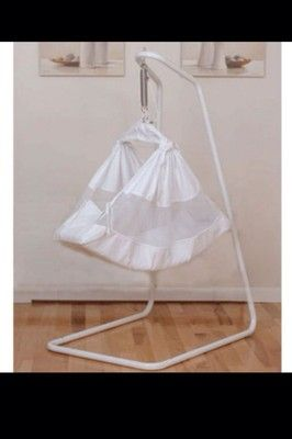 new baby hammock bassi te cot swing bassi  cradle cotton with stand au amby natures nest hammock   ebay   120   bits and bobs for my      rh   pinterest
