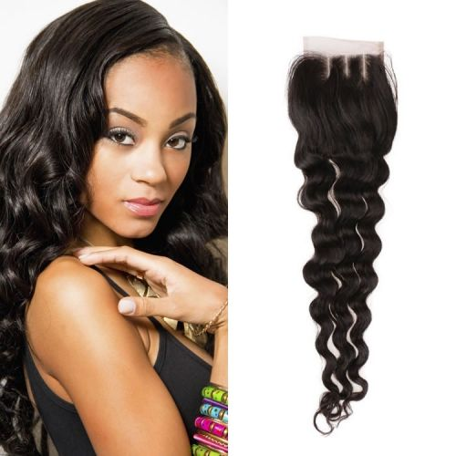 8a Preplucked Best Cheap Brazilian Lace Frontal Closure Wholesale Virgin Loose Wave Hair 4x4 Free Part Human Hair Closure Loose Waves Hair Stylish Hair Loose Hairstyles