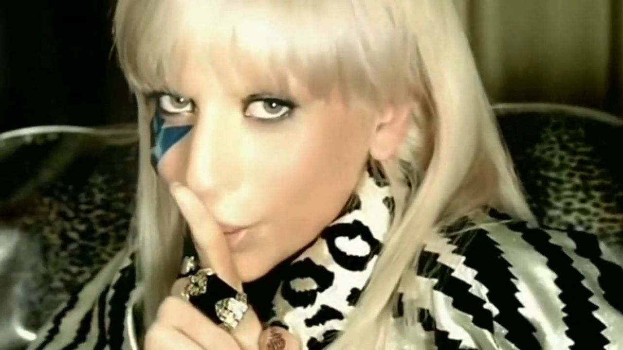 Image Of Lady Gaga Just Dance Music Video Screencaps For Fans