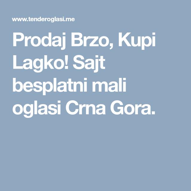 Crna gora oglasi Crna Gora