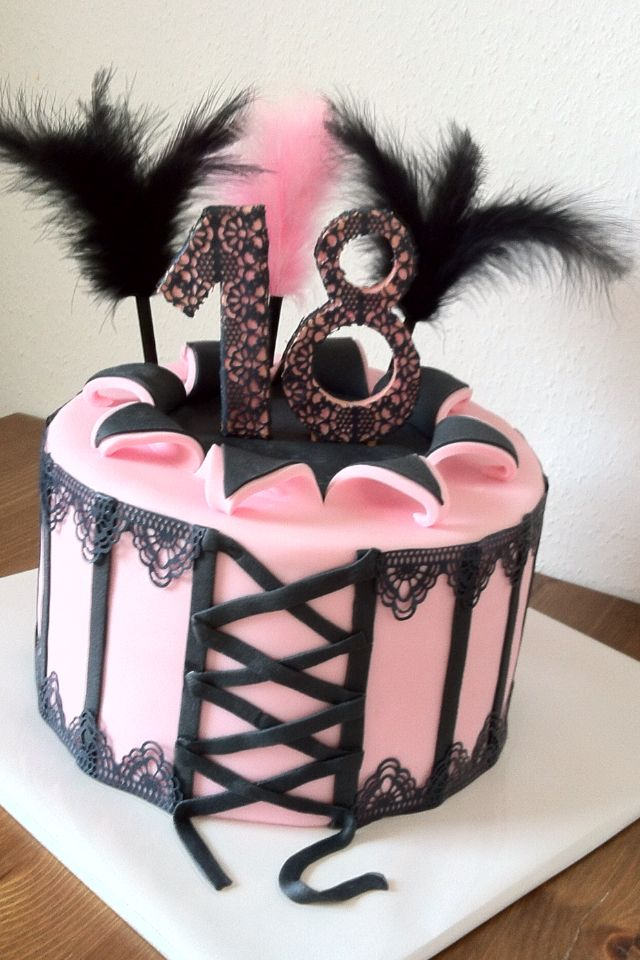 18 Th Birthday Cake A Real Diva