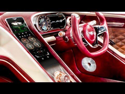 2018 Bentley Exp 12 Speed 6e Features Interior Exterior Bentley Interior And Exterior Car Design