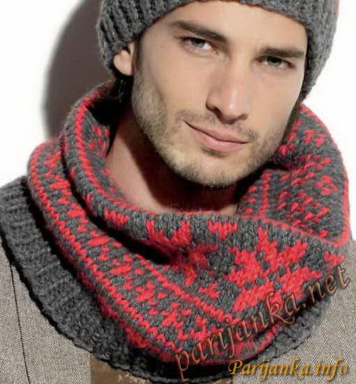 phildar snood homme