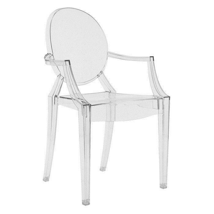 The \'Louis Ghost Chair\'.... Bought one for my daughters bedroom a ...