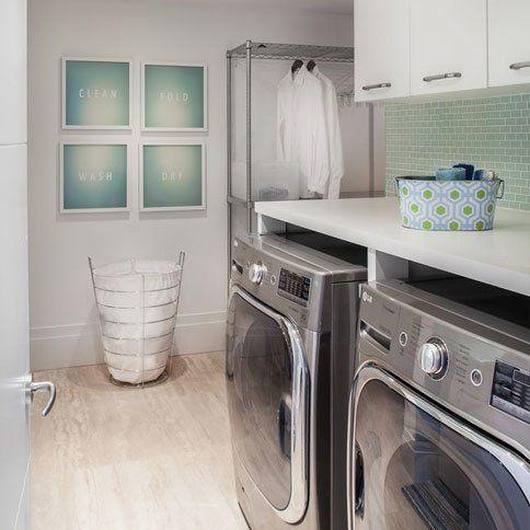9 Clever Laundry Room Ideas Wayfair Modern Laundry Rooms White Laundry Rooms Laundry Room Design