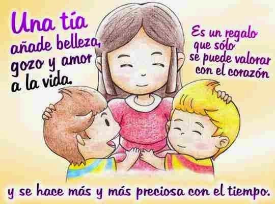Frases Sobre Ser Tia: Tía Felicidades Por Tu Onomástico DEDICATORIAS