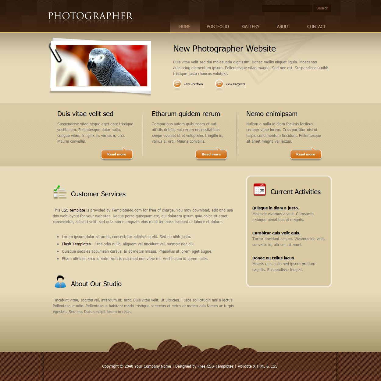 Groß Vorlage Webdesign Kostenlos Bilder - Entry Level Resume ...