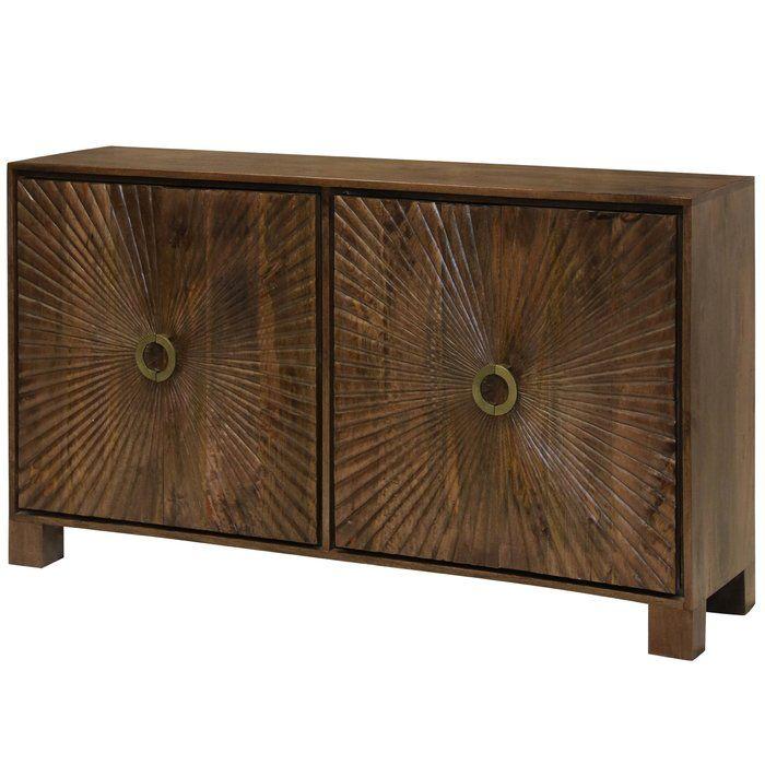 Best Destin Starburst Embossed 4 Door Accent Cabinet Living 640 x 480